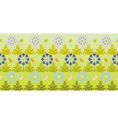 Floral backgound vector