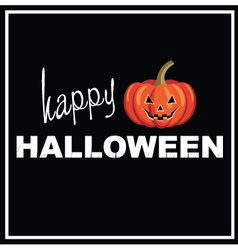 Happy Halloween background Royalty Free Vector Image