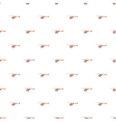 Helicopter pattern vector