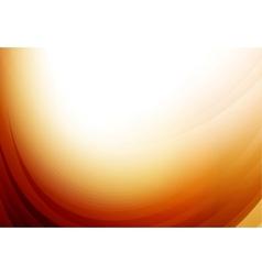 Business orange wave vector