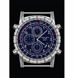 wrist watch vector image