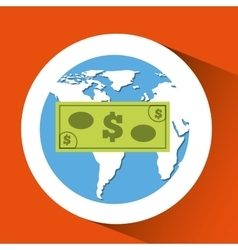 Finance money economy dollar business vector
