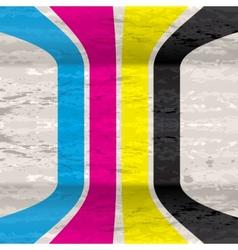 Cmyk grunge background vector