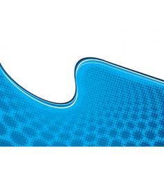 half pipe halftone vector image