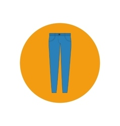 Jeans pants trousers vector image