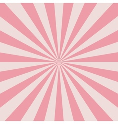 Retro pink rays vector image