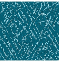 Seamless pattern - Math EPS 10 vector image vector image