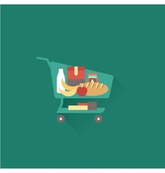 Shoping cart vector image vector image