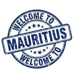 Welcome to mauritius vector