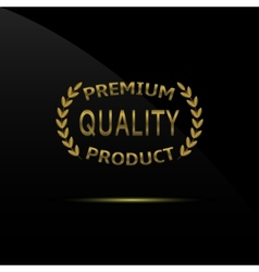 Premium quality product vector