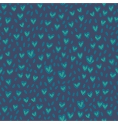 Seamless grassy pattern hand drawn texture vector