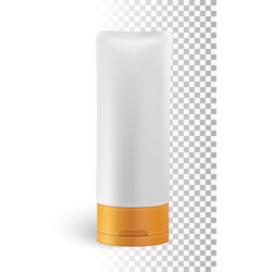 isolated cosmetic product vector image vector image