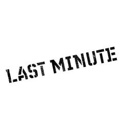 Last minute stamp vector