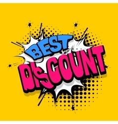 Lettering best discount comics book balloon vector image