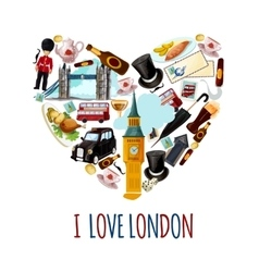 London touristic poster vector