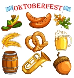 Oktoberfest design object vector