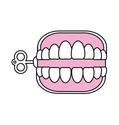 funny toy icon image vector image vector image