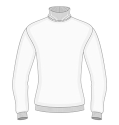 Mens sweater vector image vector image