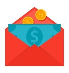 Message Money Transfer Concept vector image