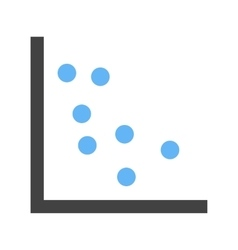 Scatter plot i vector