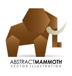 abstract animal vector image