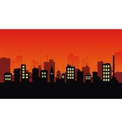City 3 vector image vector image