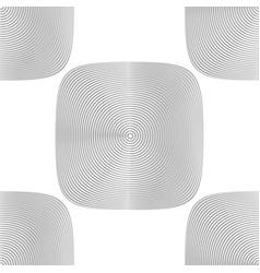 Design seamless monochrome geometric background vector