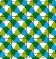 Geometric mosaic seamless pattern background vector