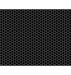 grid honeycomb seamless pattern vector image vector image