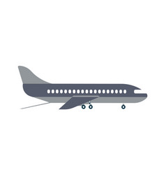 loading airplane icon in flat design vector image vector image