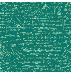 Maths Equation Pattern vector image vector image