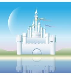 The white castle vector