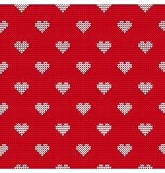 Ugly sweater for lovers vector image