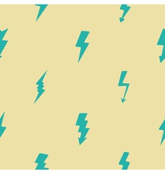 Seamless background with lightning vector