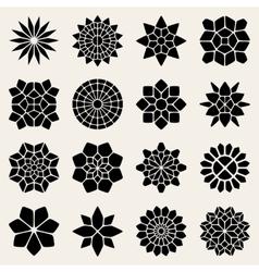 Mandala Lace Ornaments vector image vector image
