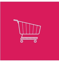 Shoping cart vector image
