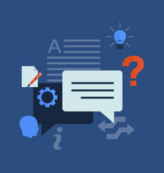Template information idea info graphic design vector