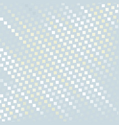 Abstract pixel mosaic background modern dots vector