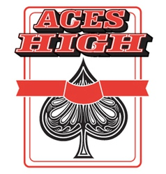 Aces high vector