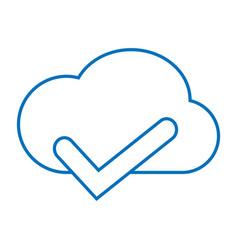 Cloud accept storage vector