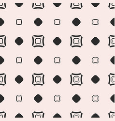 seamless pattern geometric texture with squares vector image vector image