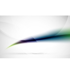 Wave abstract background green blue and purple vector