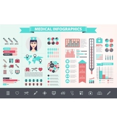 medical health care hospital doctor vector image