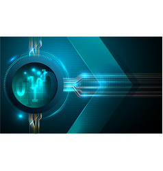 abstract futuristic fade computer technology busin vector image