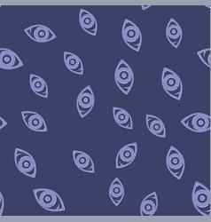 Eye icon seamless pattern vector