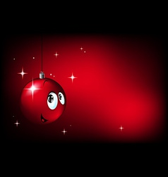Xmas decoration vector image