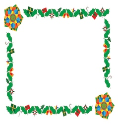 Christmas frames 05 vector