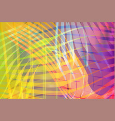 Colorful blended abstract waves background vector