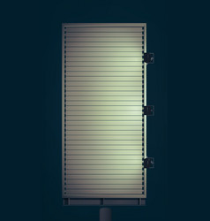 Spot light billboard vector