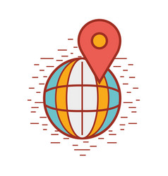 Global symbol to delivery services vector